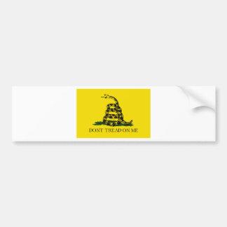 Gadsden-Flagge - treten Sie nicht auf mir - Autoaufkleber