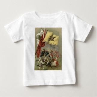 Gadsden-Flaggen-revolutionärer Krieg Bunker Hill Baby T-shirt