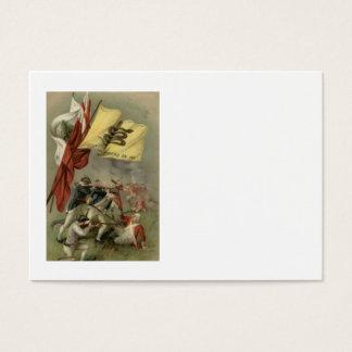 Gadsden-Flaggen-revolutionärer Krieg Bunker Hill Visitenkarte