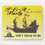 Gadsden - Tee-Party wie es ist Mousepad 1773
