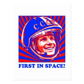 Gagarin ЮрийГагарин Postkarte
