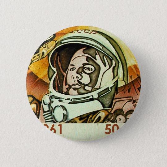 Gagarin Runder Button 5,7 Cm