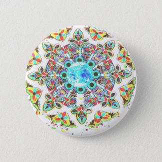 Gaiaglasimpressum Runder Button 5,7 Cm