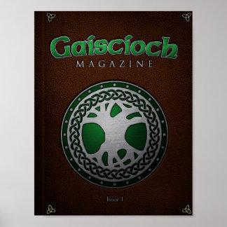Gaiscioch Ausgabe-1 Abdeckung Poster