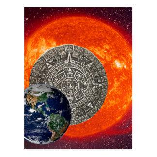 Galaktische Ausrichtung 2012 durch Kenneth Yoncich Postkarte