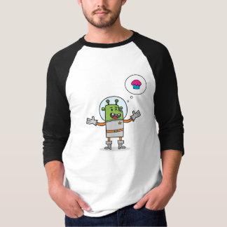 Galaktische Kuchen-Suche - 3/4 Hülsen-T - Shirt