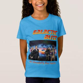Galaktische Überraschungsangriff-Mädchen T-Shirt