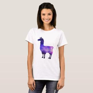 Galaktischer Lama-Damen-T - Shirt