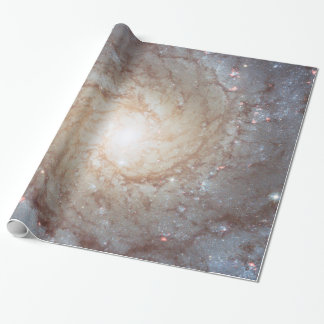Galaktisches helles Turbulenz-Packpapier Geschenkpapier