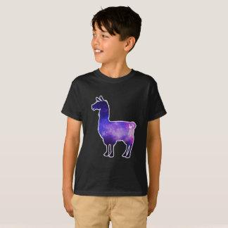 Galaktisches Lama scherzt T - Shirt