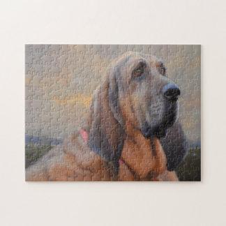 Galan das Blut-Jagdhund-Puzzlespiel Puzzle