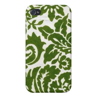 Galan Fleur - Grün Hülle Fürs iPhone 4