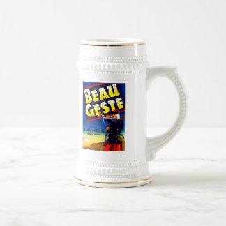 Galan Geste Marke Bierglas