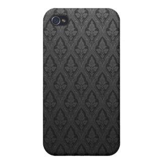 Galan-Lilie - Schwarzes Hülle Fürs iPhone 4