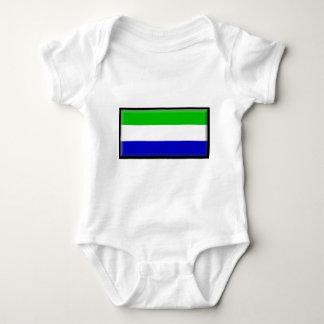 Galapagos-Insel-Flagge Baby Strampler