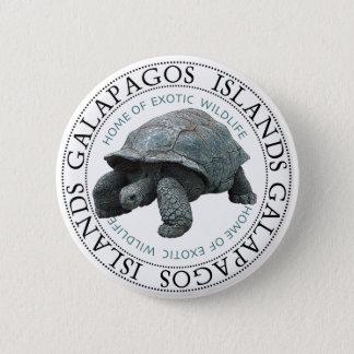 Galapagos-Insel-Schildkröte Runder Button 5,1 Cm