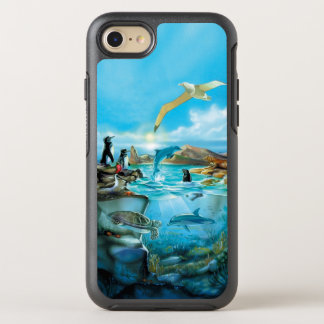 Galapagos-Tiere OtterBox Symmetry iPhone 8/7 Hülle