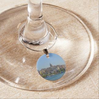 Galata Turm in Istanbul die Türkei Glasmarker