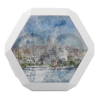 Galata Turm in Istanbul die Türkei Weiße Bluetooth Lautsprecher