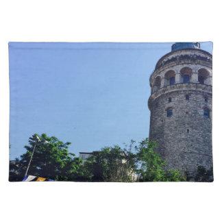 Galata Turm inspiriert Tischset