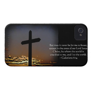 Galatians 6:14 iPhone 4 Case-Mate hülle