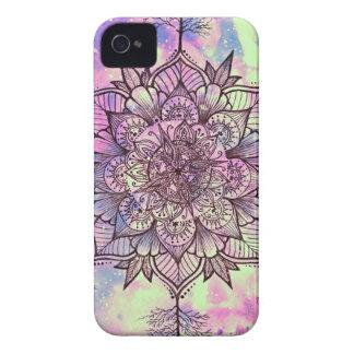 Galaxie-Baum-Mandala iPhone 4 Cover