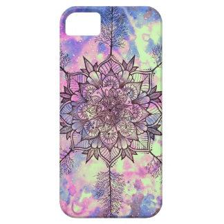 Galaxie-Baum-Mandala iPhone 5 Schutzhülle