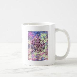 Galaxie-Baum-Mandala Kaffeetasse