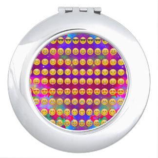 Galaxie Emojis Taschenspiegel
