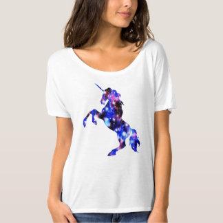 Galaxie funkelnd Bild rosa schönen Unicorn T-Shirt