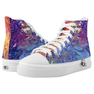 Galaxie Hoch-geschnittene Sneaker