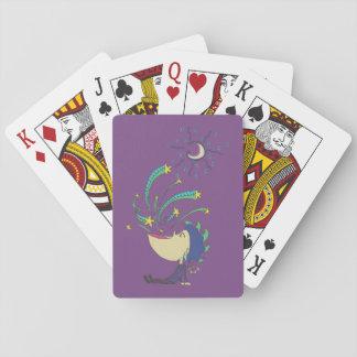 Galaxie-Junge Spielkarten