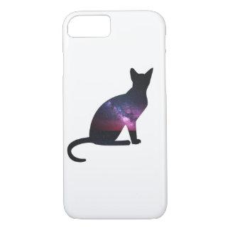 Galaxie-Katzen-Telefon iPhone 8/7 Hülle