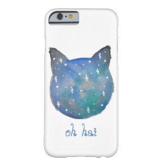 Galaxie-Katzen-Telefon-Kasten Barely There iPhone 6 Hülle
