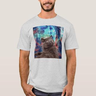 Galaxie-Katzen-Überraschung T-Shirt