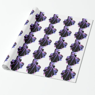 Galaxie-Kleid Geschenkpapier