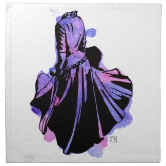 Galaxie-Kleid Stoffserviette