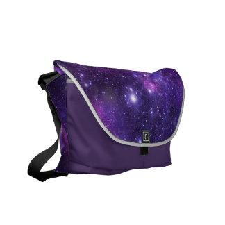Galaxie-Kosmos-mittlere Bote-Tasche Kuriertasche