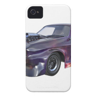 Galaxie-lila Muskel-Auto 2016 iPhone 4 Case-Mate Hülle