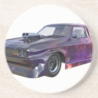 Galaxie-lila Muskel-Auto 2016 Untersetzer