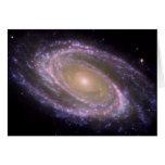 Galaxie M81 ist im Rosa hübsch Grußkarte