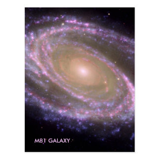 GALAXIE M81 POSTKARTE