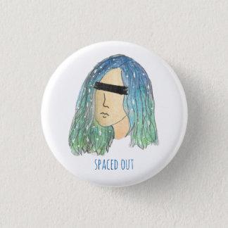 Galaxie-Mädchen Pinback Knopf Runder Button 2,5 Cm