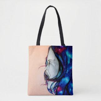 Galaxie-Mädchen Tasche