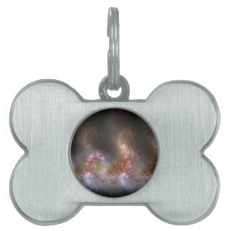 Galaxie-Nebelfleck-Druck Tiermarke