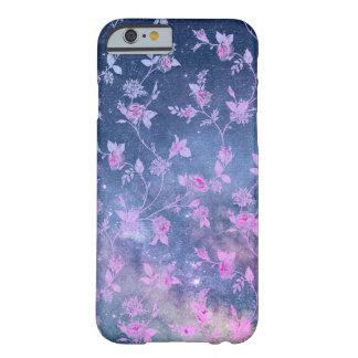 Galaxie-Nebelfleck spielt Blumenbeschaffenheit Barely There iPhone 6 Hülle