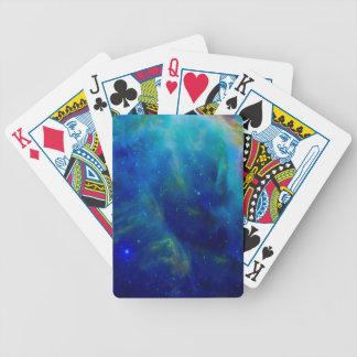 Galaxie-Raumuniversum Orions-Nebelflecks Bicycle Spielkarten