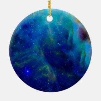 Galaxie-Raumuniversum Orions-Nebelflecks Keramik Ornament