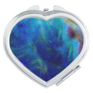 Galaxie-Raumuniversum Orions-Nebelflecks Schminkspiegel