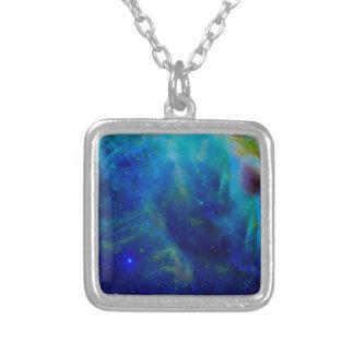 Galaxie-Raumuniversum Orions-Nebelflecks Versilberte Kette